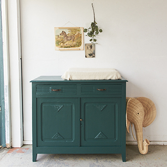 2279 - Vintage amazone commode - Firma zoethout