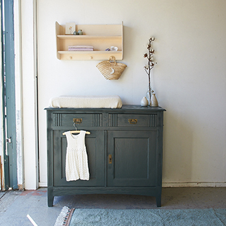 2295 - Vintage commode in woud - Firma zoethout