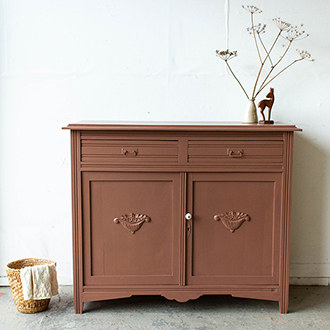 2201   Oud Roze Vintage Commode 3   Firma Zoethout