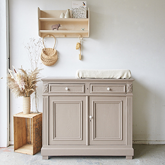2293 - Vintage commode in hazel- Firma zoethout