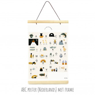 ABC poster NL van Ted & Tone - Firma Zoethout